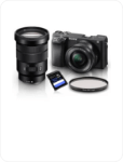 Kits DSLRs e Mirrorless