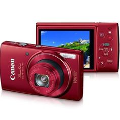 Camera-Canon-PowerShot-ELPH-150-IS---Vermelha