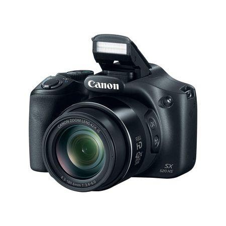 Camera-Canon-PowerShot-SX520-HS-com-16MP-e-Zoom-optico-42x