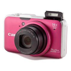 Camera-Digital-Canon-Powershot-SX230-IS--vermelha-