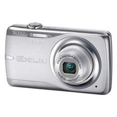 Camera-Digital-Casio-Exilim-EX-Z550-14.1-Meagapixels-Zoom-Otico-4x-Prata