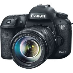 Camera-Canon-EOS-7D-Mark-II-com-Lente-EF-S-18-135mm-STM