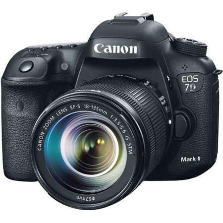 Camera-Canon-EOS-7D-Mark-II-com-Lente-EF-S-18-135mm-STM