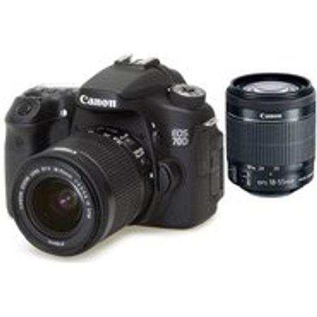Camera-DSLR-Canon-EOS-70D-com-Lente-EF-S-18-55mm-f-3.5-5.6-STM
