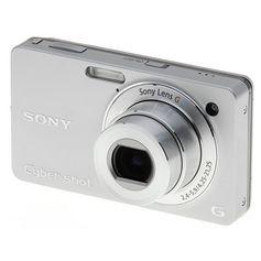 Camera-Sony-Cyber-shot-DSC-WX1-de-10.2-Megapixels-Zoom-Otico-5x-Prata