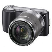Camera-Digital-Sony-Alpha-NEX-C3K-com-Lente-18-55-mm-16.2-Megapixels--LCD-3--Panoramica-3D-Preta