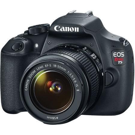 Camera-Canon-EOS-Rebel-T5-com-Lente-EF-S-18-55mm-III