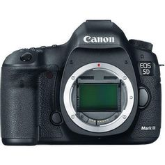 Camera-Canon-EOS-5D-Mark-III--So-o-Corpo-