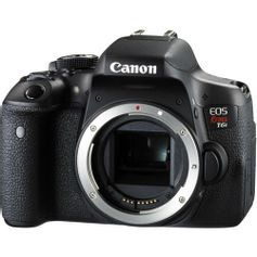 Camera-Canon-EOS-Rebel-T6i--So-o-Corpo-