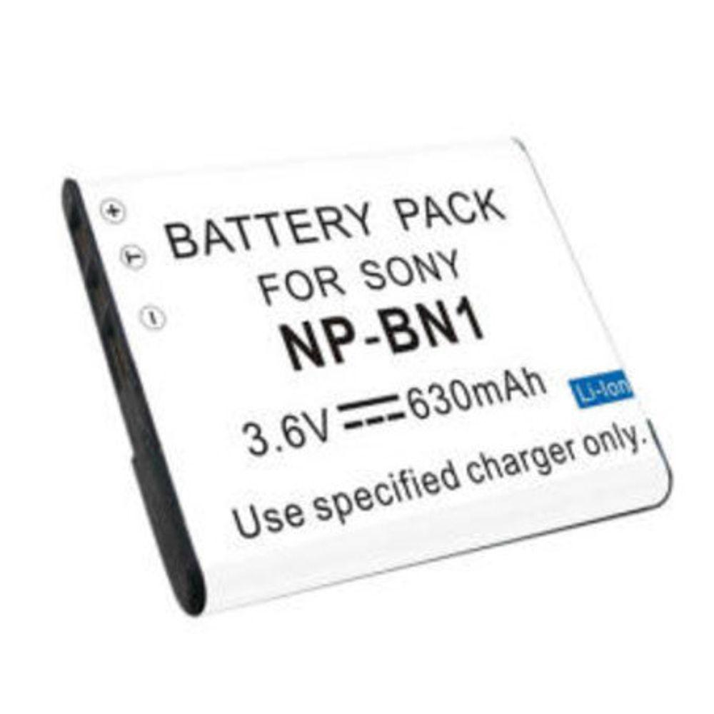 Battery Charger Kit for Sony Cybershot DSC-W320 W-320