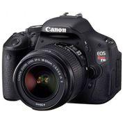 Câmera Canon EOS Rebel T3i com Lente EF-S 18-55mm F3.5-5.6 IS II