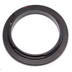 Adaptador Reverso 62mm para Canon EOS