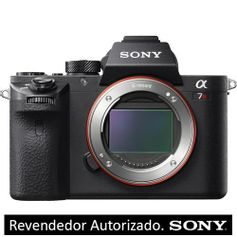 Câmera Sony Alpha a7R II Mirrorless com Sensor Full-Frame (Só o Corpo)