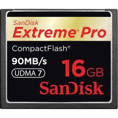 Cartão Compact Flash 16GB SanDisk Extreme Pro 90MB/s (600X) UDMA7