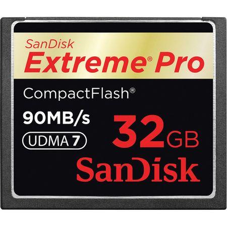 Cartão Compact Flash 32Gb SanDisk Extreme Pro 90MB/s (600X) UDMA7