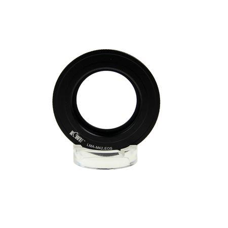 Adaptador de Lente M42 para Canon