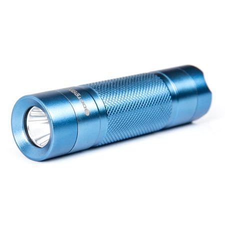 Lanterna de LED Dotcom com Carregador e Bateria - Azul