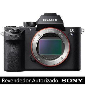Câmera Sony Alpha a7S II Mirrorless com Sensor Full-Frame (Só o Corpo)