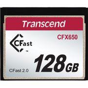 Cartão CFast 128Gb Transcend CFX650 (TS128GCFX650)