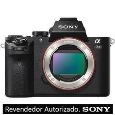 Câmera Sony Alpha a7 II Mirrorless com sensor Full-Frame (Só o Corpo)