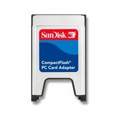 Adaptador Pcmcia Sandisk para Compact Flash