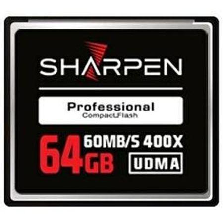 Cartão Compact Flash 64Gb Sharpen 60Mb/s (400x) UDMA5