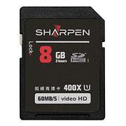 Cartão SD 8Gb Sharpen 60Mb/s Classe10