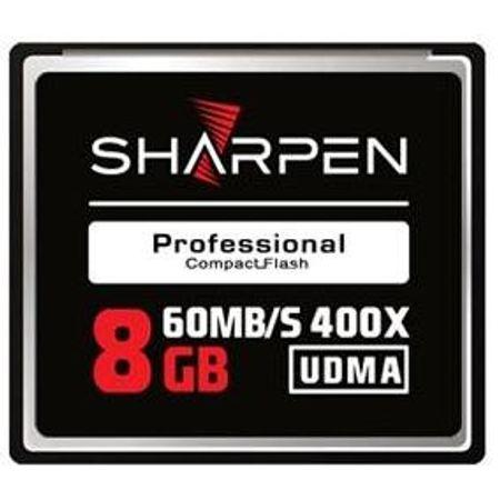 Cartão Compact Flash 8Gb Sharpen 60Mb/s (400x), UDMA5