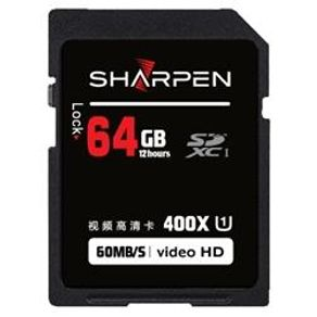 Cartão SD 64Gb Sharpen 60Mb/s Classe 10