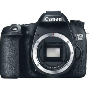 Camera-Canon-EOS-70D--So-o-Corpo-