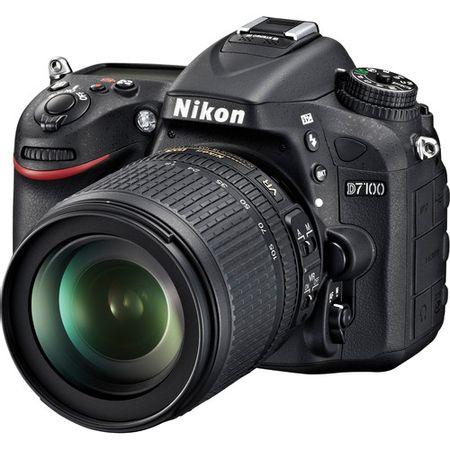 Camera-Nikon-D7100-com-Lente-18-105mm-f-3.5-5.6G-ED-VR-DX
