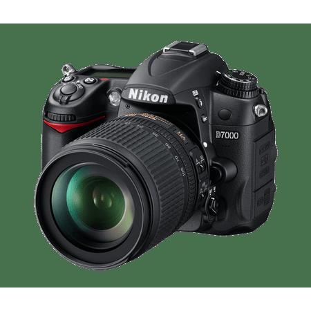 Camera-Nikon-D7000-com-Lente-18-105mm-NIKKOR-VR-DX