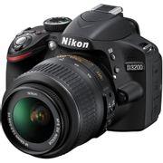 Camera-Nikon-D3200-com-Lente-18-55mm-DX-NIKKOR-AF-S-1-3.5-5.6G-VR