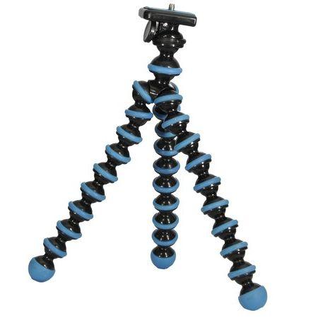 Tripe-Gorilla-articulavel-para-Cameras-compactas-e-Smartphones---Azul