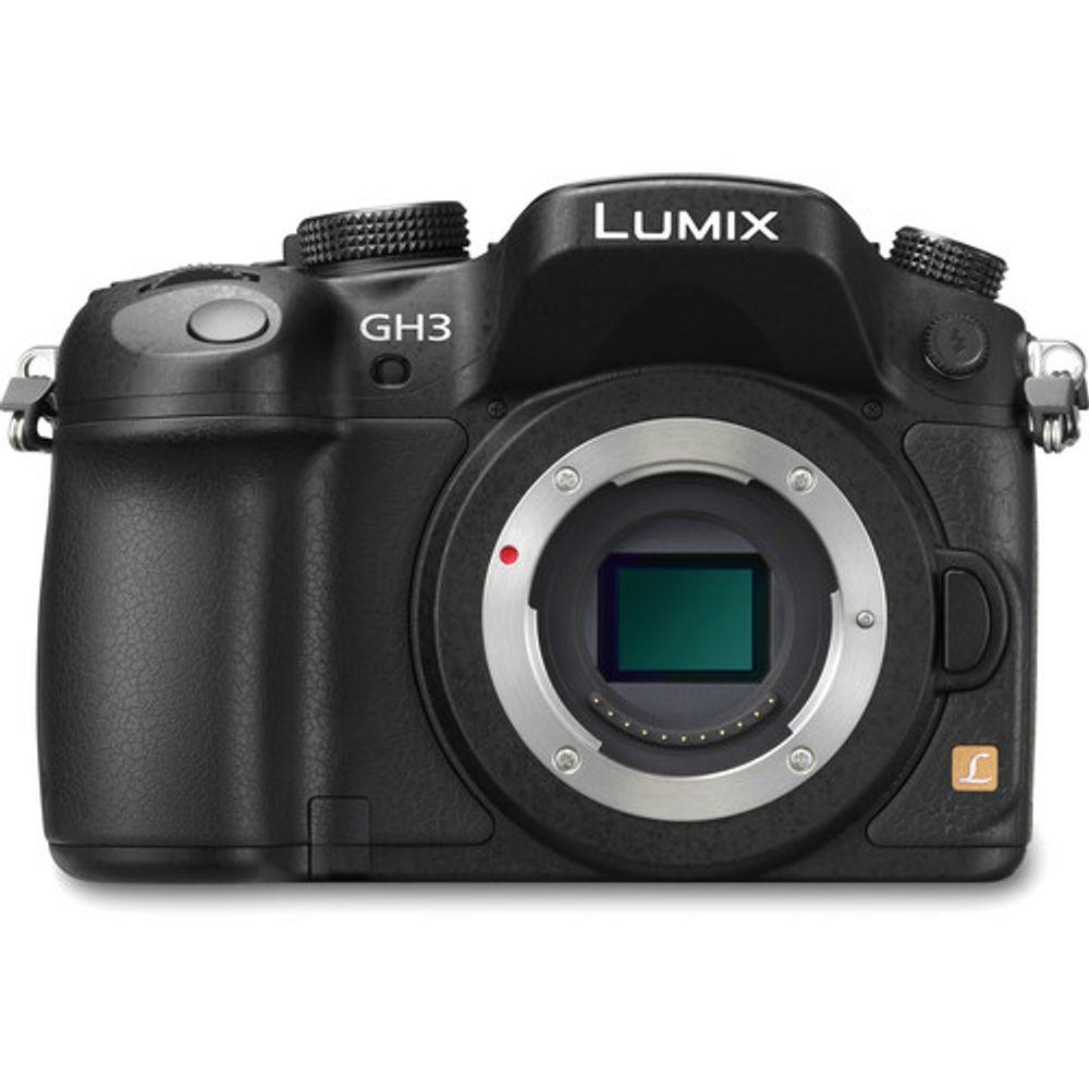Câmera Digital Panasonic Lumix Preto 14.0mp - Dmc-gh3 | 14-140mm