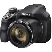 Camera-Sony-Cyber-Shot-DSC-H400-com-20.1-MP-LCD-de-3--Zoom-Optico-de-63x-Estabilizador-Optico-e-Video-HD