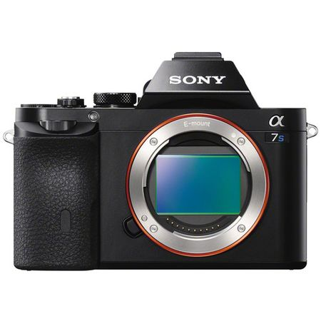 Camera-Sony-Alpha-a7S-Mirrorless-com-Sensor-Full-Frame--So-o-Corpo-