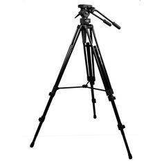 Tripe-para-Videos-com-Cabeca-Semi-Hidraulica-para-ate-82Kg