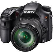 Camera-DSLR-Sony-Alpha-SLT-A77-e-Lente-Sony-18-135mm-f-4.0-5.6-SAM-II-A-Mount