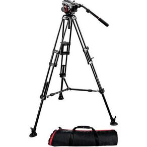 Tripe-Manfrotto-504HD-546BK-com-Cabeca-de-Video-Hidraulica-com-Bolsa