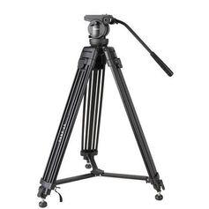 Tripe-Profissional-com-Cabeca-Hidraulica-para-Cameras-ate-7Kg-com-Bolsa-de-Transporte