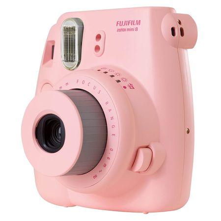 Camera-Instantanea-Fujifilm-Instax-Mini-8---Rosa
