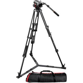Kit-Manfrotto-504HD-546GBK-Sistema-de-Tripe-de-Video---Suporta-ate-75-Kg