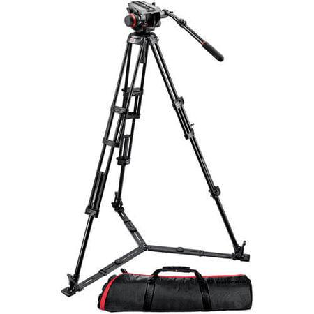 Kit-Manfrotto-504HD-546GBK-Sistema-de-Tripe-de-Video---Suporta-ate-75-Kg