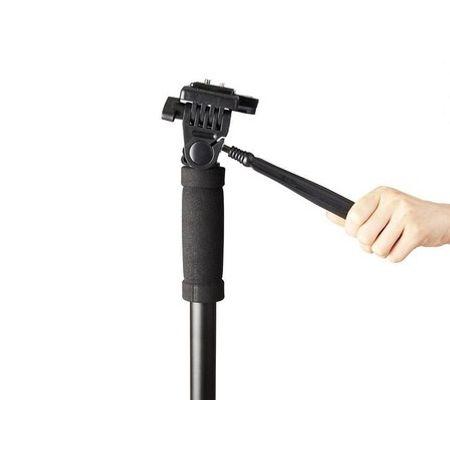 Monope-com-Pes-de-Galinha-e-Cabeca-Semi-Hidraulica-DS3202-para-DSLR-e-Filmadoras-ate-5Kg