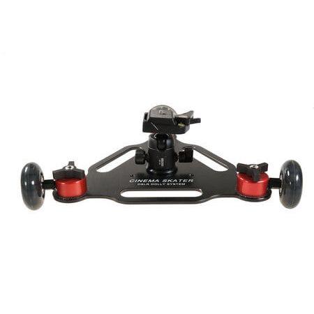 Dolly-Skate-Triplo-SK-3B-com-Escalas-para-Cameras-DSLR-e-Filmadoras