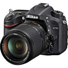 Camera-Nikon-D7100-com-Lente-18-140mm-f-3.5-5.6G-ED-VR-AF-S-DX