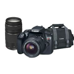 Kit-Camera-Canon-EOS-T6-com-Lente-18-55mm---Lente-Canon-EF-75-300mm-e-Bolsa-Canon