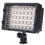 Iluminador Led SunGun 183 Leds Video Light com Bateria