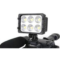Iluminador-Sun-Gun-de-6-Super-Leds-para-Cameras-e-Filmadoras